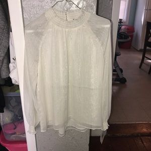 Shimmer Ellen Tracy blouse